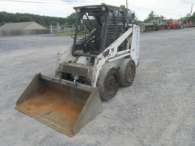 1993 Bobcat 742B Propane Skid Steer Loader!