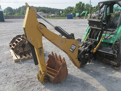 2004 Caterpillar BH30W Skid Steer Loader Backhoe Attachment!