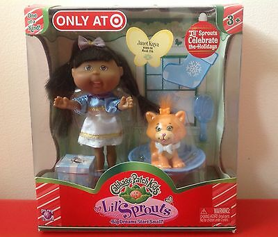 New Cabbage Patch Kids Lil' Sprouts Holiday Doll Target Exclusive March 17