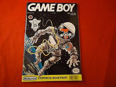 Game Boy Comic Issue No. 2  by Valiant Nintendo Comics System Gameboy