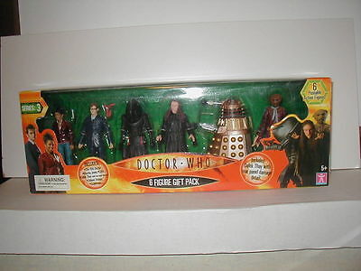 Dr. DOCTOR WHO - 6 FIGURE BOX SET #3 -MINMB VERY RARE w/ Lilith, Judoon, Martha