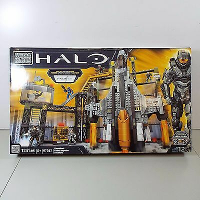 Mega Bloks Halo Countdown - Set 97017 - Halofest - New In Box 1241 Pcs (T64)