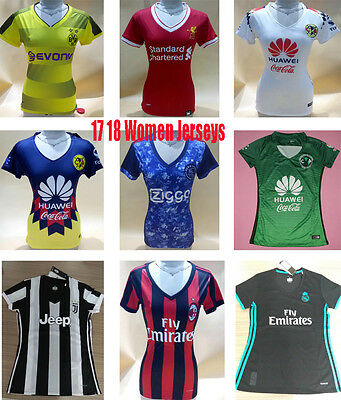 New Women soccer jersey real madrid football shirts Juventus female soccer wear