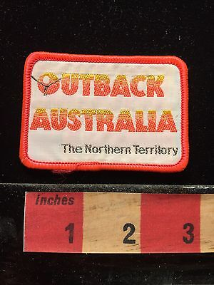 Outback Australia Souvenir Patch ~ The Northern Territory 69Q3