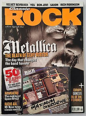 Classic Rock Metallica Cover Magazine January 2005 Issue 75
