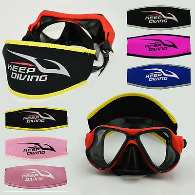 Underwater Strap Cover added Comfort Scuba Dive Snorkeling Mask ProtectHair E FM