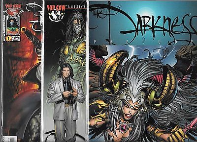 The Darkness Lot Of 7 - Prelude, Holiday Pin Up, Black Sails, Infinity +++