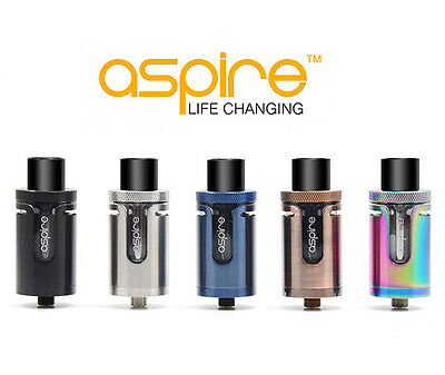 Authentic Aspire Cleito EXO Tank - All Colours 2ml TPD Compliant