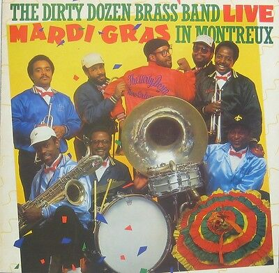 The Dirty Dozen Brass Band Mardi Gras in Montreux Live