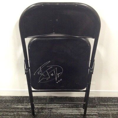WWE Ring Used Steel Chair Signed by Randy Orton (w/official WWE COA)