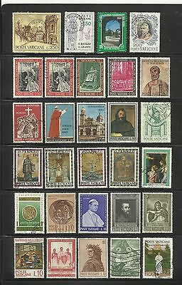 Vatican City ~ Mid Modern Small Collection (Some Postally Used)