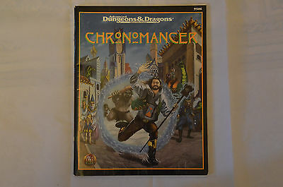 AD&D Chronomancer TSR 9506 RPG book Advanced Dungeons and Dragons