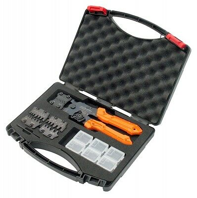NEW ENGINEER  INTERCHANGEABLE CRIMPING TOOL SET PAD-01With Tracking Japan