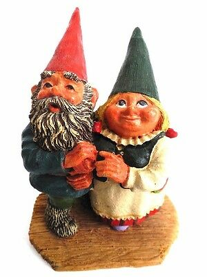 Rien Poortvliet, Looking to the Moon, Gnome Figurine Classic gnomes Klaus Wickl.