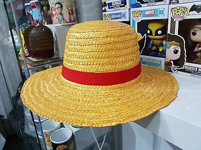 Cappello Cosplay Luffy Rubber One Piece Nuovo