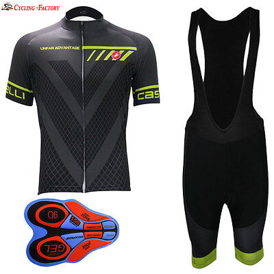 2017 New Style Summer Mens Short Sleeve Cycling Jersey Bicycle Sportswear Top