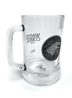 Game of Thrones House Stark Glass Stein Beer Mug GP85055