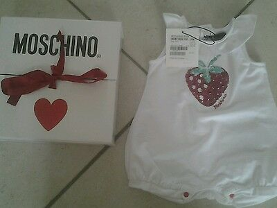 Pagliacetto Moschino Baby Tg 3-6 Mesi