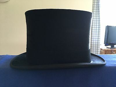 Scott & Co Vintage Silk Top Hat