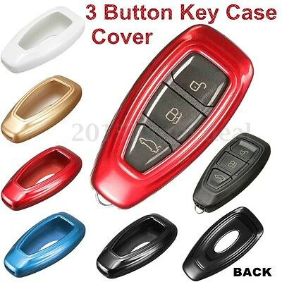 Remote Key Case Fob Skin Protection Shell Cover Bag For Ford Fiesta Focus Mondeo