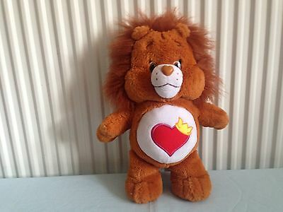 Official Care Bear Brave Heart Lion Plush 2016. Approx 15 Inches.