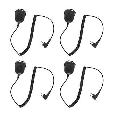 4 pcs Speaker Microphone for RCA XR150 BR250 RELM RP6500 FDC KM150A Talkie