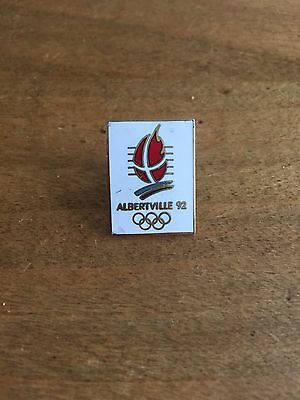 Rare Pins Pin's .. Olympique Olympic Albertville 92