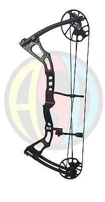 "ASD 2017 Mirage Compound Bow 15-70 Lbs 19-31"" Draw Length 300Fps * Black *"