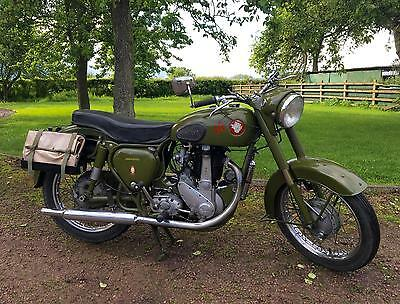 BSA B31 1956 350cc Home Office, AFS Model Classic Motorcycle