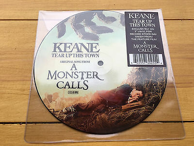 KEANE - 'Tear Up This Town' 7 inch picture disc single - RSD17 release (NEW)