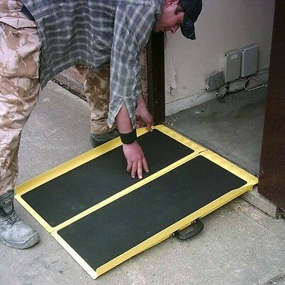 Portable, Lightweight Access Ramp for Wheelchairs and Mobility Scooters