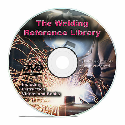 Welding Reference Guides DVD, Stick, TIG, MIG, Oxyacetylene Plasma Cutting V25
