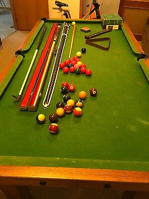 Pool Table Solid Timber Slate Top