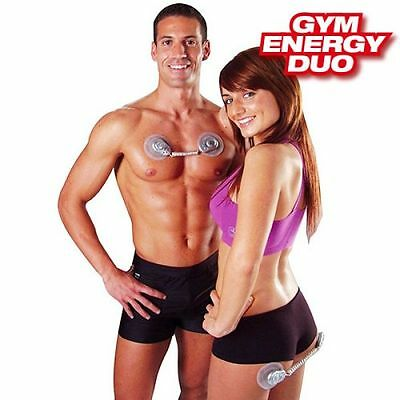 Gym Energy Duo Blast Electro-Stimulator Muscle Toning Abs