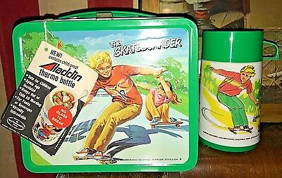 Beautiful 1976 Skateboarder Lunch Box NEW WITH TAGS!
