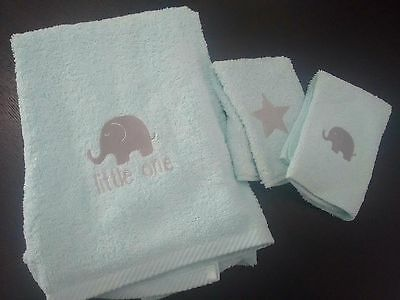 Little One Baby Towel Set