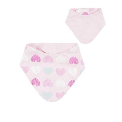 Döll Girl Baby Triangle cloth Little hear touch fastener to reverse