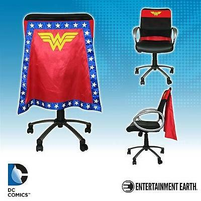 DC Comics Licensed Classic WONDER WOMaN Office CHAIR CAPE Justice League JLA