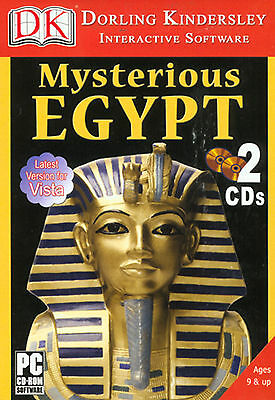 Dreamcatcher Great Digs of Mysterious Egypt PC Game 95/98/XP * Ship Free