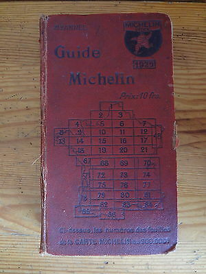 Guide rouge Michelin 1925
