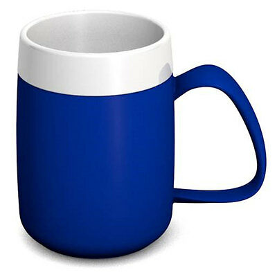 Ornamin One Handled Mug + internal cone - 200ml - Blue/White - PR65135/BL