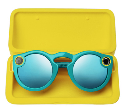 [UK BASED] [TEAL/BLUE] Snapchat Spectacles / Glasses [IOS / Android] [Bluetooth]