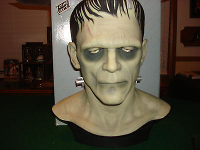 1996 CINEART Boris Karloff Frankenstein Full Head Bust W/Coa & Box  Not Don Post