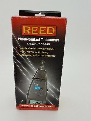 REED Photo-Contact Tachometer Model ST-6236B