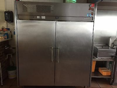 Williams Double Door Stainless Steel Commercial Catering Fridge Chiller