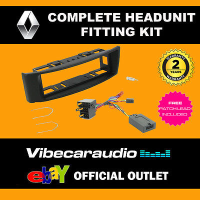 Connects2 CTKRT03 Renault Megane Car Stereo Fascia Complete Fitting Kit