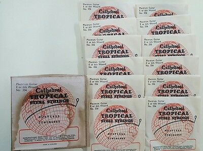 Vintage Cathedral Tropical Guitar Strings New Old Stock