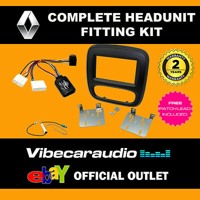 Connects2 CTKRT06 Renault Trafic Double Din Fascia & Steering Wheel Interface