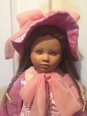 Large Beautiful Haunted Looking Doll- Stacey-Rose. Tangible Item.