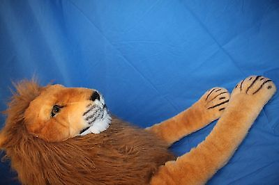 Melissa and Doug Extra-Large Giant Plush Lion Life Size Stuffed Animal